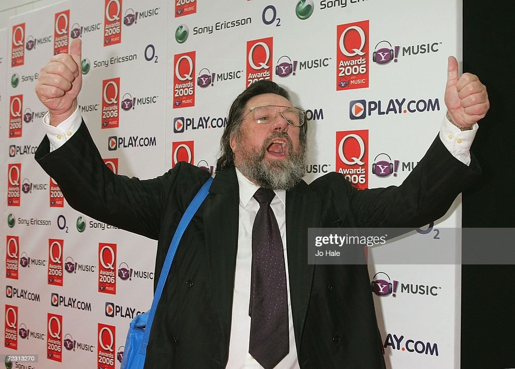 Actor Ricky Tomlinson arrives at the Q Awards 2006 held at the Grosvenor House Hotel on October 30, 2006 in London, England.