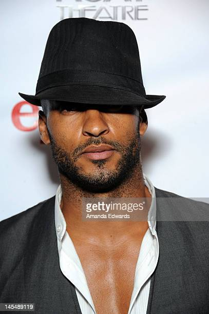 Actor Ricky Whittle arrives at the NYLON Magazine June/July Music Issue Launch Party With Shirley Manson at The Roxy Theatre on May 30 2012 in West...