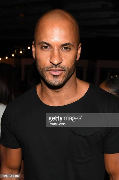 Actor Ricky Whittle at 'Nappily Ever After' wrap party at Suite Lounge on September 30 2017 in Atlanta Georgia