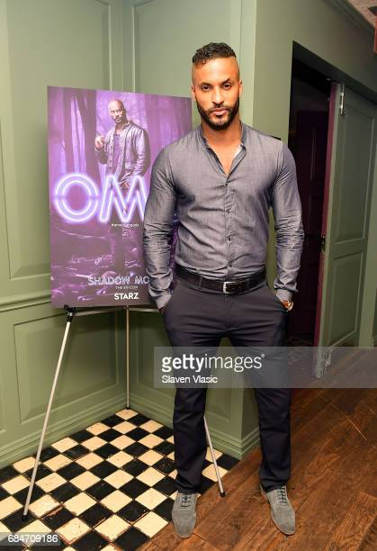 Actor Ricky Whittle attends 'American Gods' Junket Mixer at Soho House on May 18 2017 in New York City