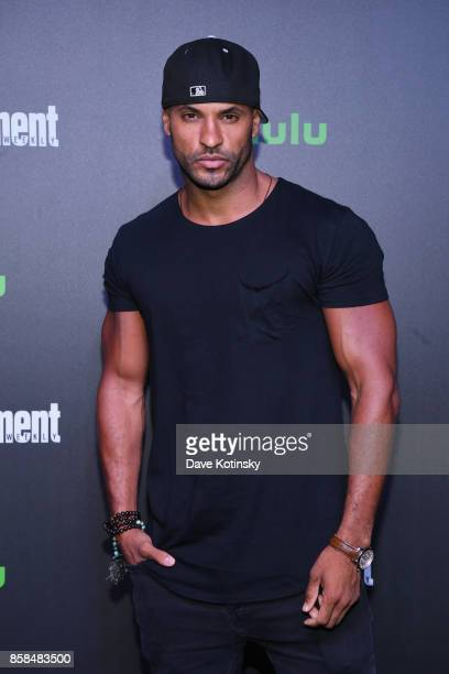 Actor Ricky Whittle attends Hulu's New York Comic Con After Party at The Lobster Club on October 6 2017 in New York City