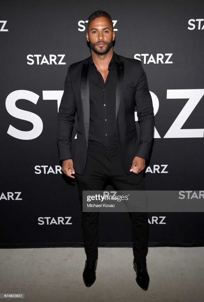 Actor Ricky Whittle attends the American Gods FYC event at Saban Media Center on April 28, 2017 in North Hollywood, California.