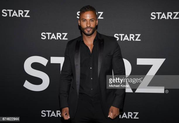 Actor Ricky Whittle attends the American Gods FYC event at Saban Media Center on April 28 2017 in North Hollywood California