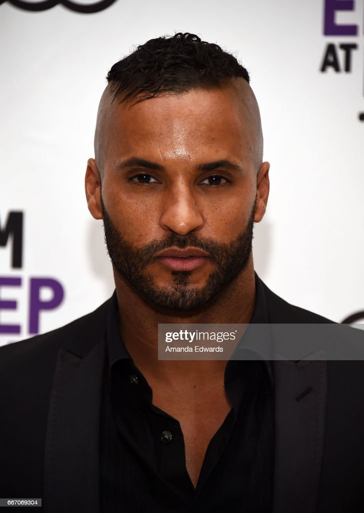 Actor Ricky Whittle attends the Film Independent at LACMA special screening and Q&A of 'American Gods' at the Bing Theatre at LACMA on April 10, 2017 in Los Angeles, California.