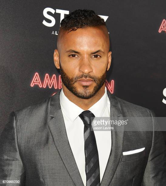 Actor Ricky Whittle attends the premiere of 'American Gods' at ArcLight Cinemas Cinerama Dome on April 20 2017 in Hollywood California
