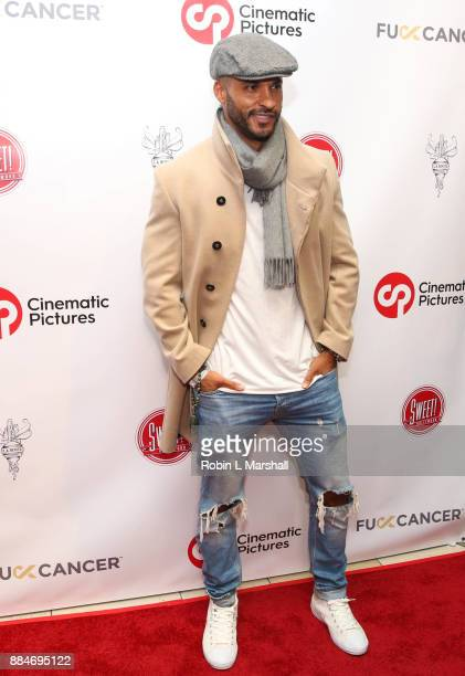 Actor Ricky Whittle attends the TJ Scott Book Launch for 'In The Tub Volume 2' at Cinematic Pictures Group Gallery on December 2 2017 in Hollywood...