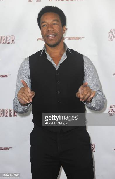 Actor Rico E Anderson arrives for the cast and crew screening of 5th Passenger held at TCL Chinese 6 Theatres on December 13 2017 in Hollywood...