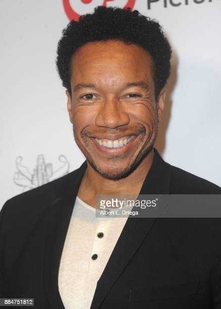 Actor Rico E Anderson arrives for the TJ Scott Book Launch For 'In The Tub Volume 2' held at Cinematic Pictures Group Gallery on December 2 2017 in...