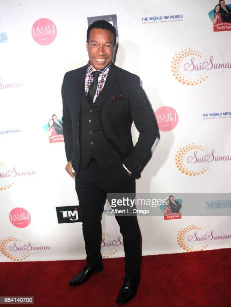 Actor Rico E Anderson at Sai Suman's Official Hollywood Runway Fashion Show held at Sofitel Hotel on April 11 2017 in Los Angeles California