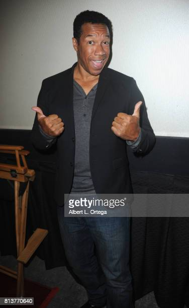 Actor Rico E Anderson at the Premiere Of 'Renegades The Requiem' held at Laemmle Theater on July 12 2017 in North Hollywood California