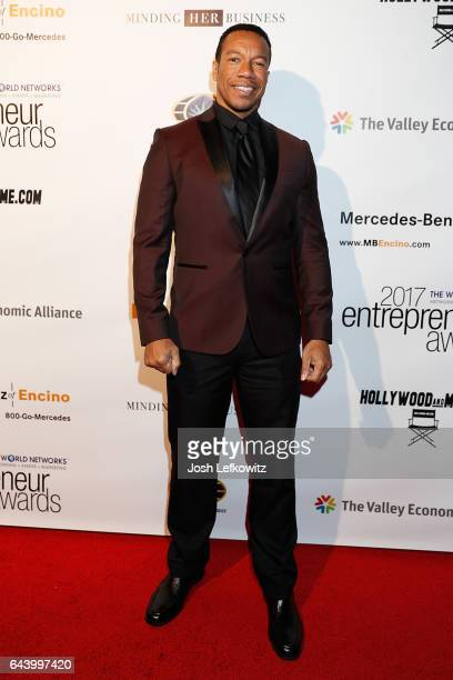 Actor Rico E Anderson attends the 2017 Entrepreneur Awards at Allure Events And Catering on February 22 2017 in Van Nuys California