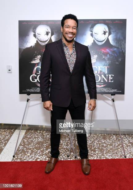 Actor Rico E Anderson attends the premiere of Get Gone at Arena Cinelounge on January 24 2020 in Hollywood California