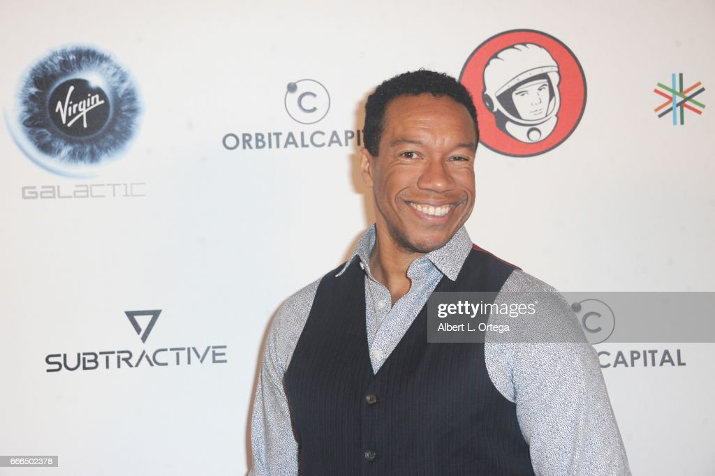 Actor Rico E. Anderson attends Yuri's Night L.A. held on April 8, 2017 in Los Angeles, California.
