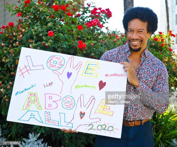 Actor Rico E. Anderson participates in supporting the launch of #LOVEaboveALL2020 movement on July 20, 2020 in Los Angeles, California....