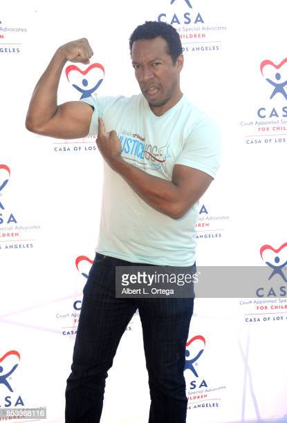 Actor Rico E Anderson participates in the 10th Annual Justice Jog 5/10K Run Walk Hosted By GLAALA held on September 24 2017 in Century City California