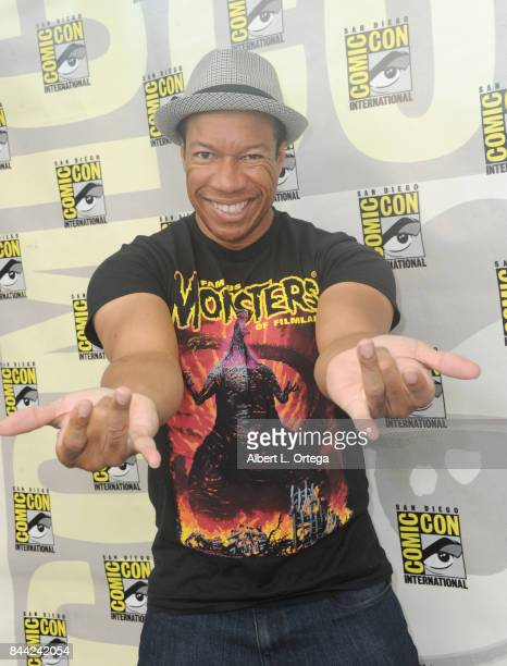 Actor Rico E Anderson signs autographs on Sunday Day 4 of ComicCon International on July 23 2017 in San Diego California
