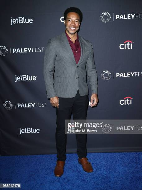 """Actor Rico P. Anderson of the television show """"The Orville"""" attends The Paley Center for Media's 35th Annual Paleyfest Los Angeles at the Dolby..."""