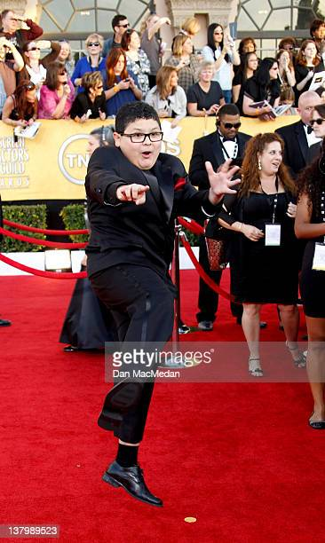Actor Rico Rodriguez arrives at the 18th Annual Screen Actors Guild Awards held at The Shrine Auditorium on January 29 2012 in Los Angeles California