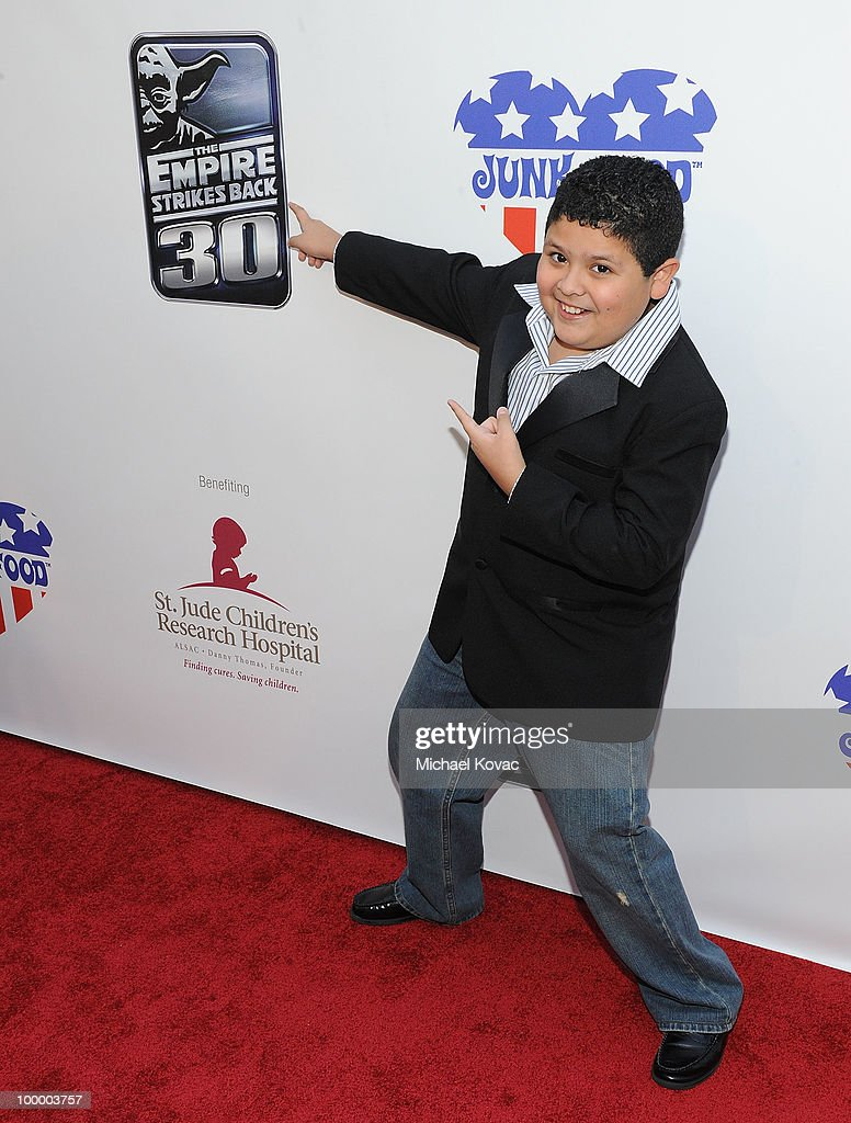 Actor Rico Rodriguez arrives at 'The Empire Strikes Back' 30th Anniversary Charity Screening Event at ArcLight Cinemas on May 19, 2010 in Hollywood, California.