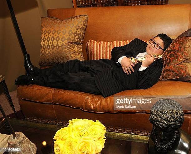 Actor Rico Rodriguez attends Backstage Creations Celebrity Retreat at The NCLR ALMA Awards on September 10 2011 in Los Angeles California