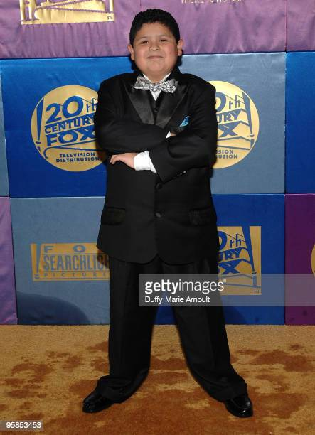 Actor Rico Rodriguez attends Fox's 2010 Golden Globes Awards Party at Craft on January 17 2010 in Century City California