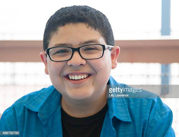 Actor Rico Rodriguez attends Mattel's 5th Annual Party On The Pier Hosted By Sarah Michelle Gellar at Santa Monica Pier on October 5 2014 in Santa...