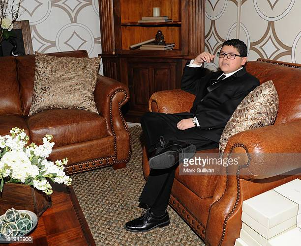 Actor Rico Rodriguez attends the 2013 Writers Guild Awards Backstage Creations Celebrity Retreat on February 17 2013 in Los Angeles California