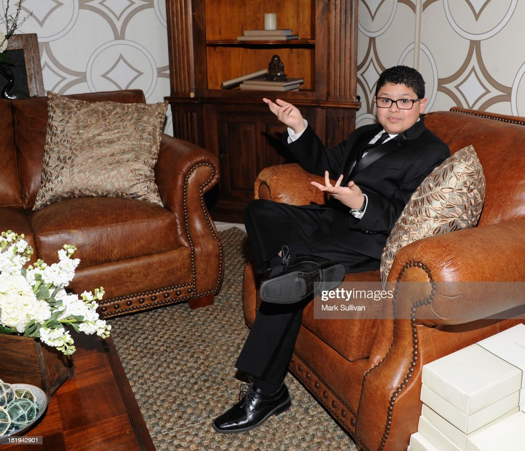 Actor Rico Rodriguez attends the 2013 Writers Guild Awards Backstage Creations Celebrity Retreat on February 17, 2013 in Los Angeles, California.