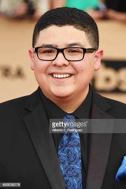 Actor Rico Rodriguez attends the 23rd Annual Screen Actors Guild Awards at The Shrine Expo Hall on January 29 2017 in Los Angeles California