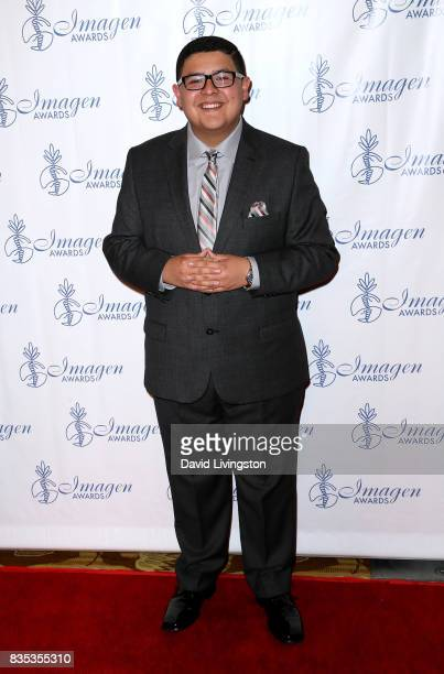 Actor Rico Rodriguez attends the 32nd Annual Imagen Awards at the Beverly Wilshire Four Seasons Hotel on August 18 2017 in Beverly Hills California
