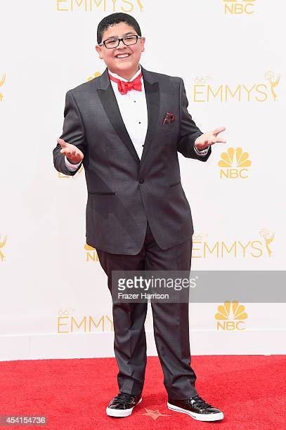 Actor Rico Rodriguez attends the 66th Annual Primetime Emmy Awards held at Nokia Theatre LA Live on August 25 2014 in Los Angeles California