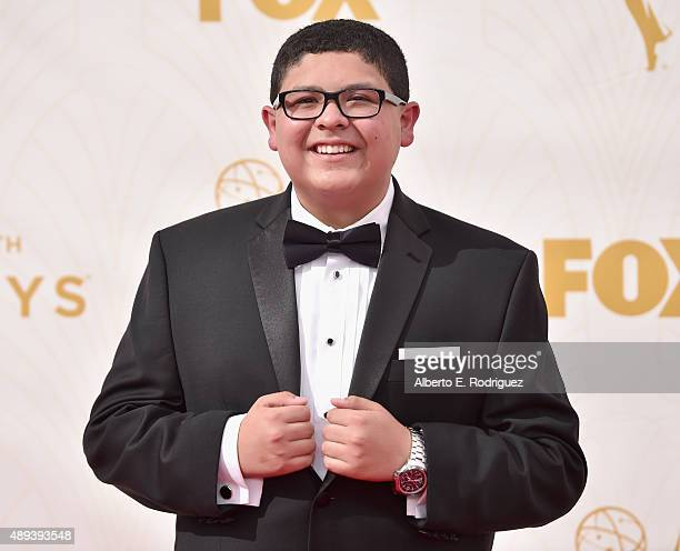 Actor Rico Rodriguez attends the 67th Emmy Awards at Microsoft Theater on September 20 2015 in Los Angeles California 25720_001