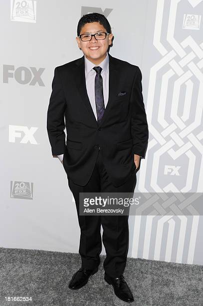 Actor Rico Rodriguez attends the Fox Broadcasting Twentieth Century Fox Television and FX 2013 Emmy nominees celebration at Soleto on September 22...