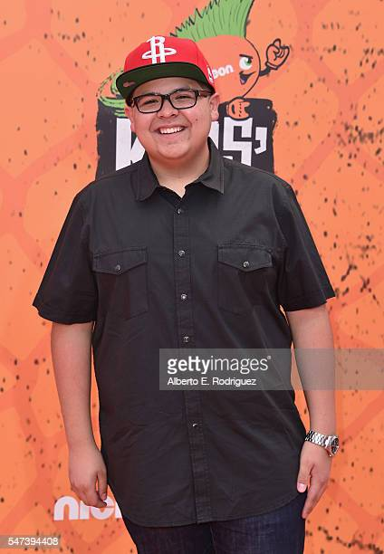 Actor Rico Rodriguez attends the Nickelodeon Kids' Choice Sports Awards 2016 at UCLA's Pauley Pavilion on July 14 2016 in Westwood California