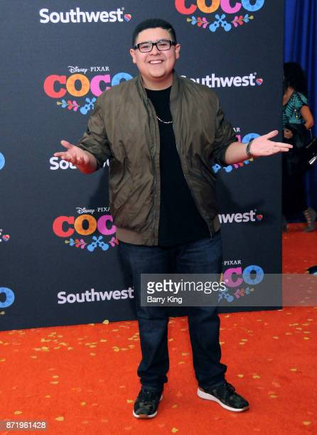 Actor Rico Rodriguez attends the US Premiere of Disney Pixar's 'Coco' at El Capitan Theatre on November 8 2017 in Los Angeles California