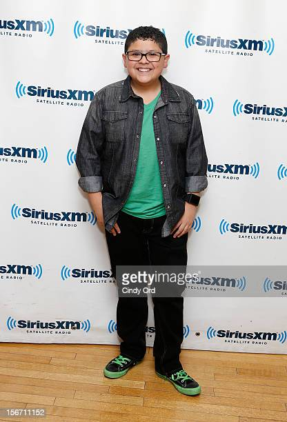 Actor Rico Rodriguez visits the SiriusXM Studios on November 19 2012 in New York City