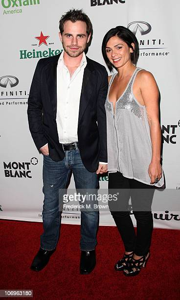 Actor Rider Strong and Alexandra Barreto attends the Esquire House LA hosts 'The Oxfam Party' on November 18 2010 in Los Angeles California