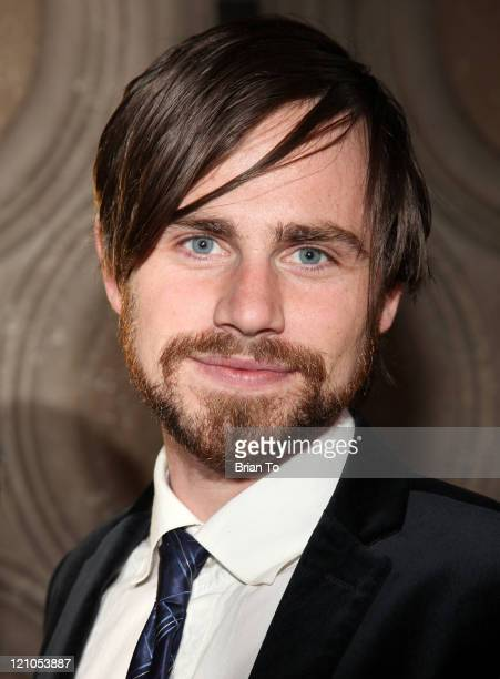 Actor Rider Strong arrives at 'The Boys The Sherman Brothers' Story' Los Angeles Special Screening at the El Capitan Theatre on May 19 2009 in...