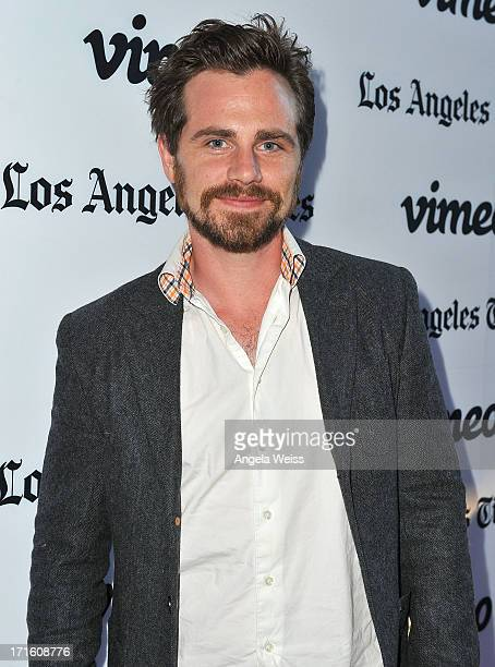 Actor Rider Strong arrives at the premiere of 'Some Girl' at Laemmle NoHo 7 on June 26 2013 in North Hollywood California