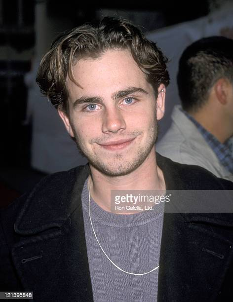 Actor Rider Strong attends the 68th Annual Hollywood Christmas Parade on November 28 1999 at Hollywood Boulevard in Hollywood California