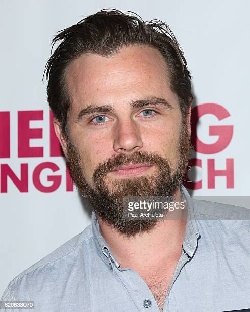 Actor Rider Strong attends the opening night of 'Hedwig And The Angry Inch' at the Pantages Theatre on November 2 2016 in Hollywood California