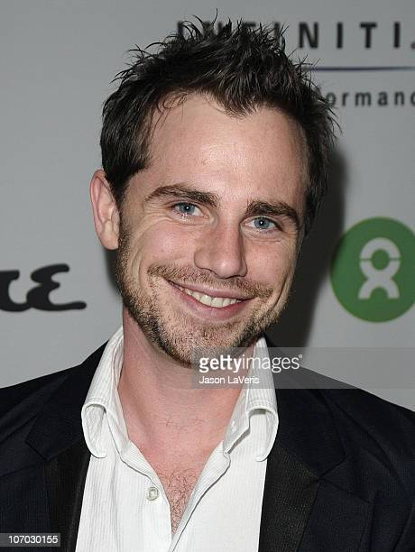 Actor Rider Strong attends the Oxfam party at Esquire House Estates on November 18 2010 in Los Angeles California