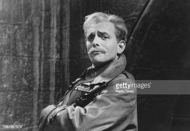 Actor Rik Mayall in a scene from episode 'Private Plane' from the television sitcom 'Blackadder Goes Forth', September 17th 1989.