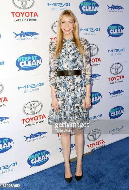 Actor Riki Lindhome attends Keep it Clean Live Comedy Benefit for Waterkeeper Alliance at Avalon Hollywood on April 20 2017 in Los Angeles California