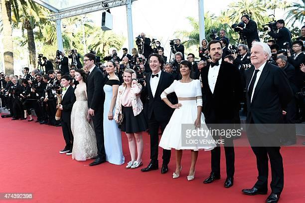 US actor Riley Osborne US actress Mackenzie Foy US director Mark Osborne French actress Marion Cotillard French actress Clara Poincare French actor...