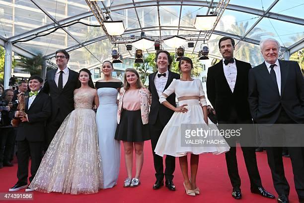 US actor Riley Osborne US director Mark Osborne US actress Mackenzie Foy French actress Marion Cotillard French actress Clara Poincare French actor...