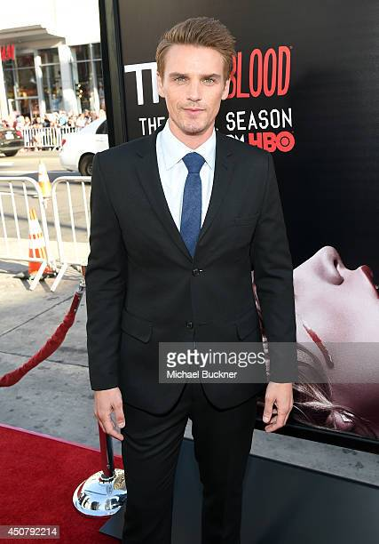 Actor Riley Smith attends Premiere Of HBO's True Blood Season 7 And Final Season at TCL Chinese Theatre on June 17 2014 in Hollywood California