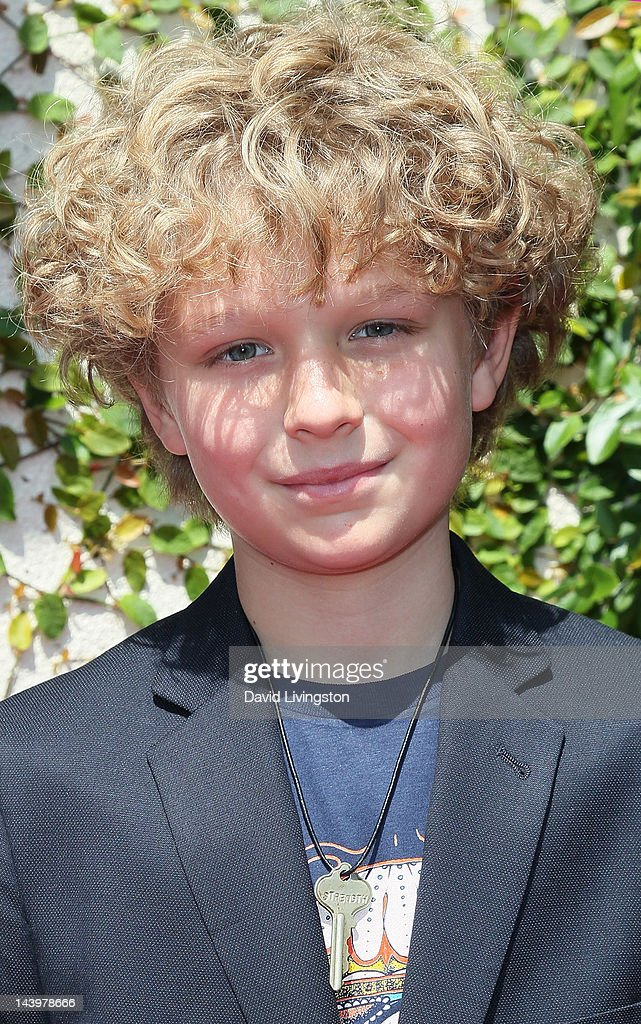 Actor Riley Thomas Stewart attends the 33rd Young Artist ...