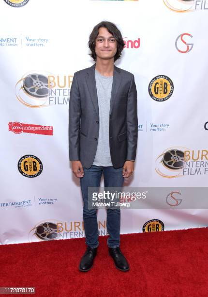 "Actor Rio Mangini attends the premiere of ""Relish"" at the Burbank International Film Festival at AMC Burbank 16 on September 06, 2019 in Burbank,..."