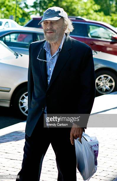Actor Rip Torn enters Litchfield Superior Court for a hearing in connection with charges of criminal trespass carrying a gun without a permit...